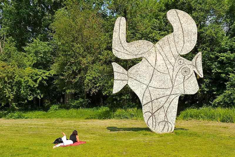 پیکاسو در فوندل پارک آمستردام