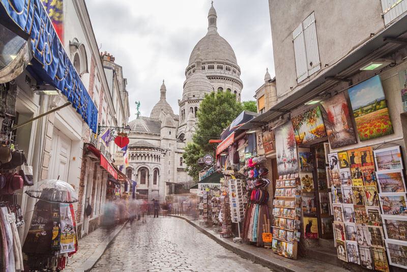 محله مونمارتر – منطقه هجدهم پاریس