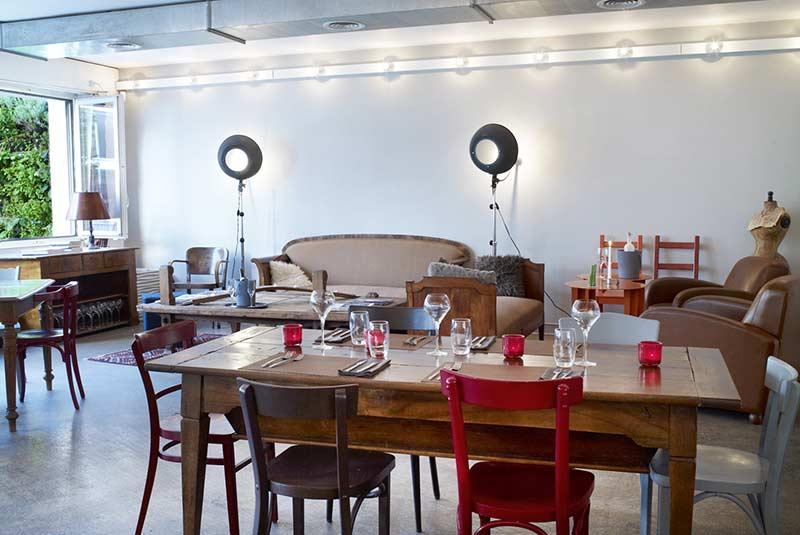 لادرس - کافه بوتیک در ژنو