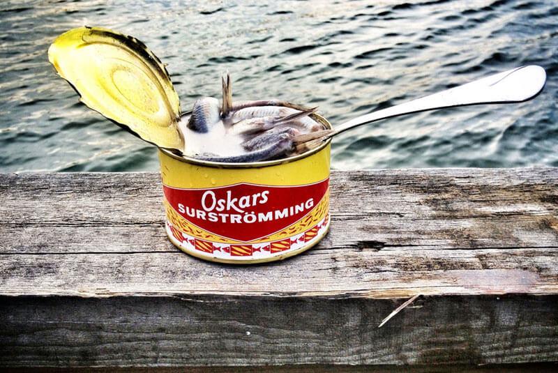 کنسرو ماهی سورسترومینگ (Surströmming)
