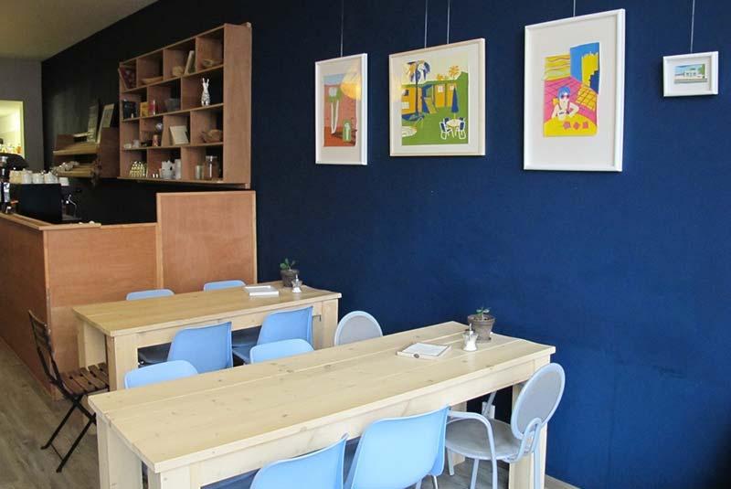 کافه ترلاپلین - جاذبه پنهان آمستردام