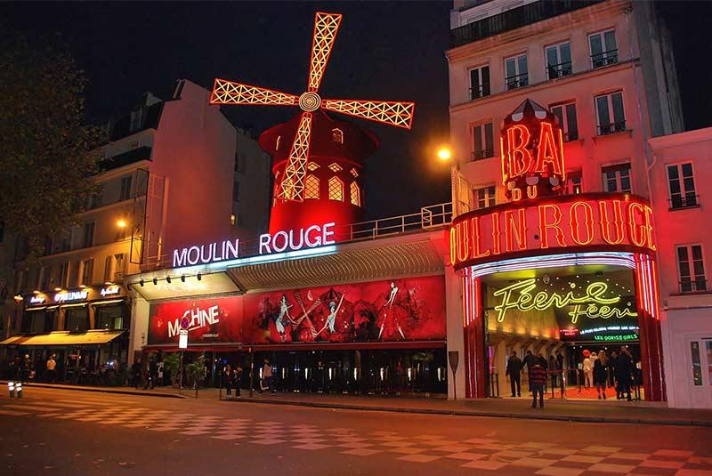 مولن روژ - زندگی شبانه پاریس