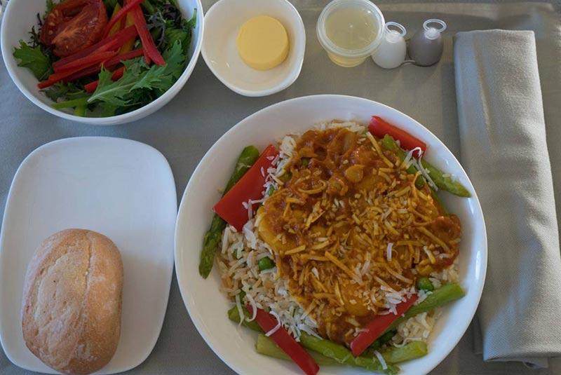 غذا در پروازهای فیجی ایرویز