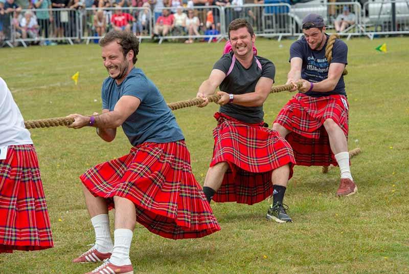فرهنگ مردم اسکاتلند