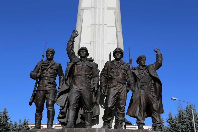موزه جنگ جهانی دوم در پارک پیروزی مسکو