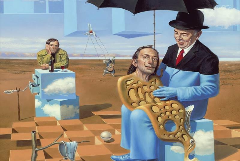 سبک سورئالیسم در نقاشی