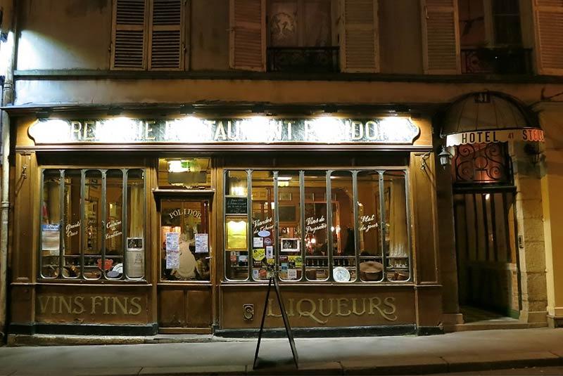 پولیدور پاریس در شب