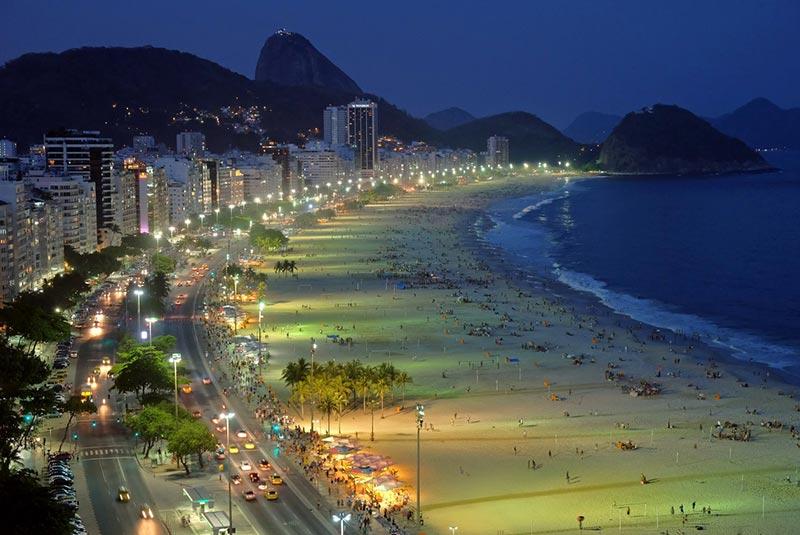ساحل کوپاکابانا - برزیل