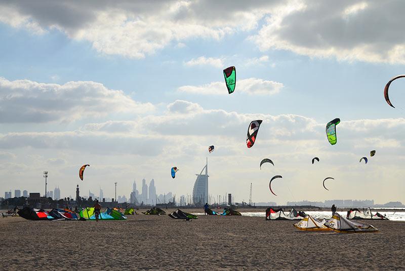ساحل کایت - دبی