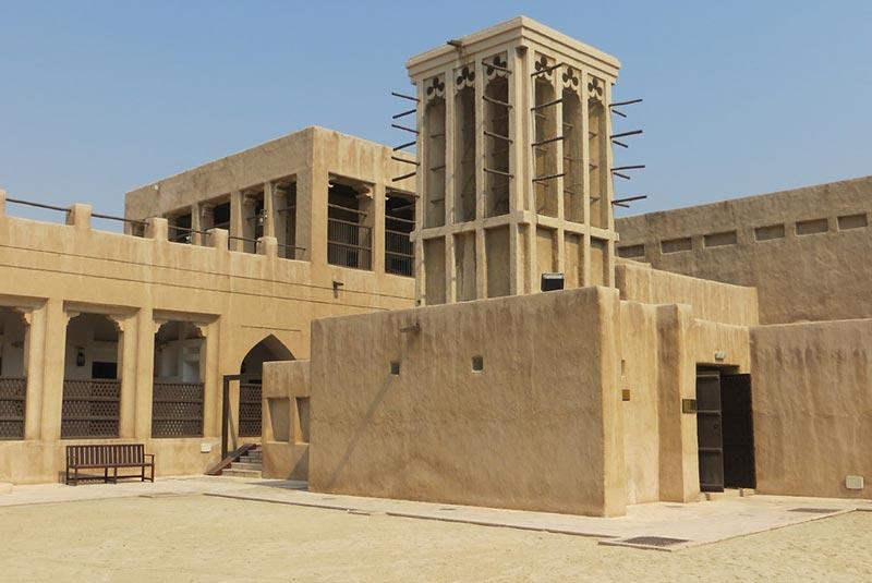 خانه شیخ سعید المکتوم - دبی