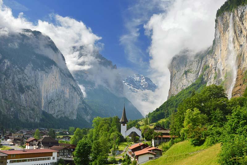 دهکده های سوئیس