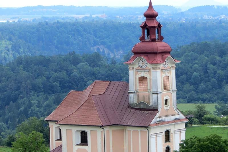 کلیسای جان باپتیست - اسلوونی