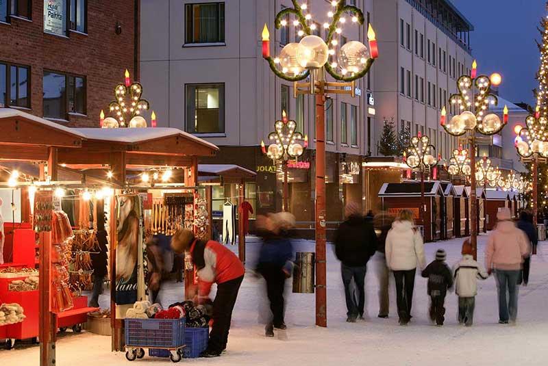 دهکده کریسمس فنلاندی