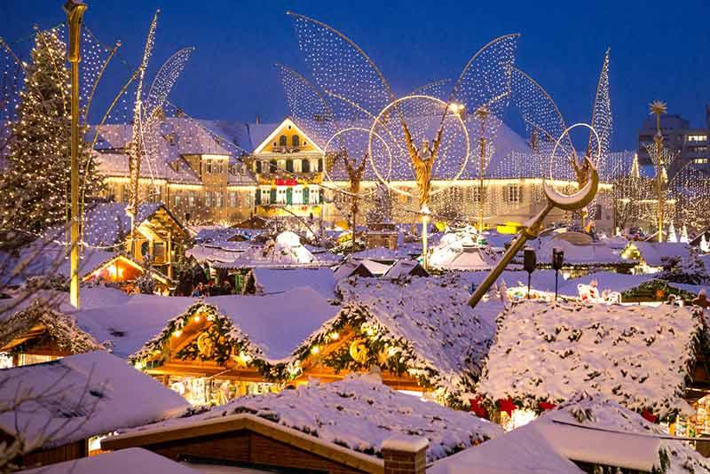 بازار کریسمس لودویگزبورگ