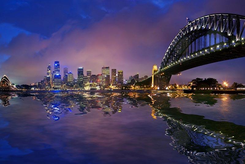پل بندرگاه سیدنی - استرالیا