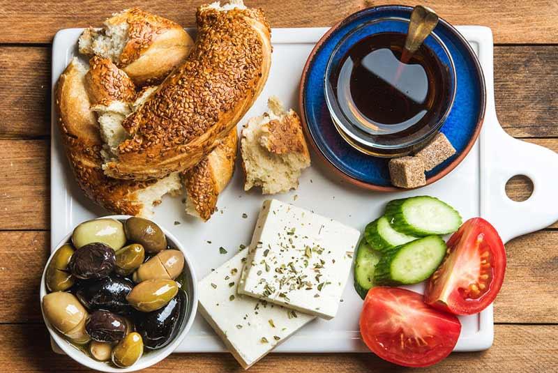 صبحانه در رستوران های آنتالیا