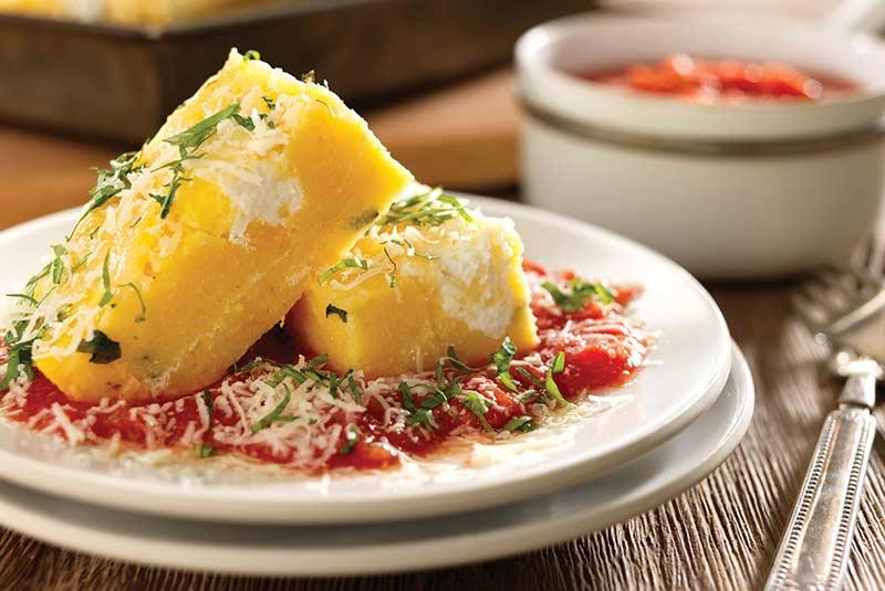 پولنتا - غذای ایتالیایی