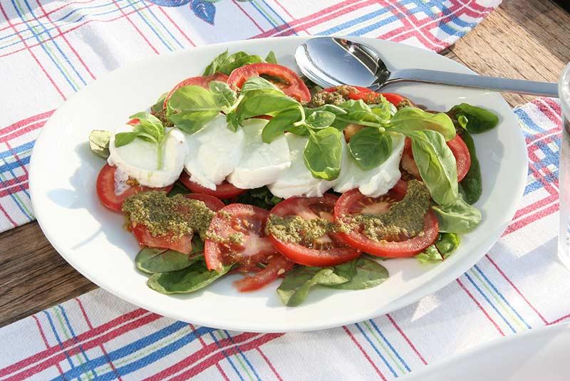 سالاد کاپرزه - غذای ایتالیایی