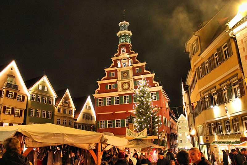 بازار قرون وسطایی اسلینگن