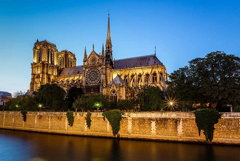 کلیسای نوتردام - پاریس