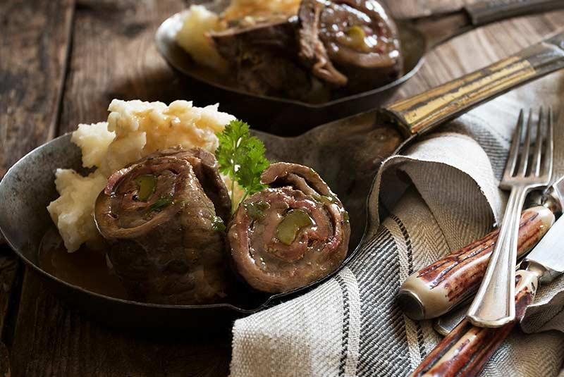 رولادن گوشت - غذای آلمانی