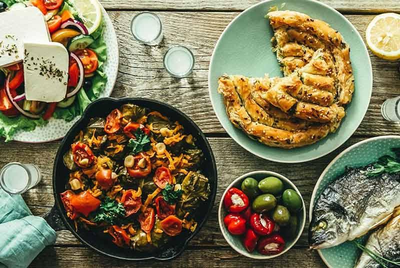 رسپی 7 غذای یونانی