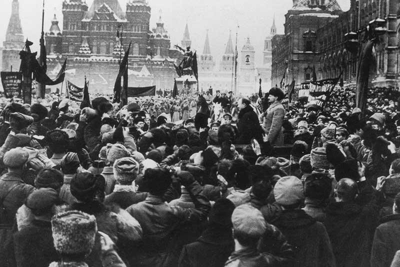 انقلاب اکتبر روسیه 1917
