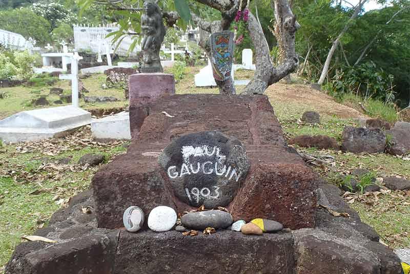محل دفن پل گوگن