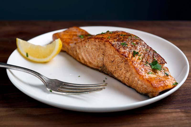 طرز تهیه ماهی سالمون نروژی