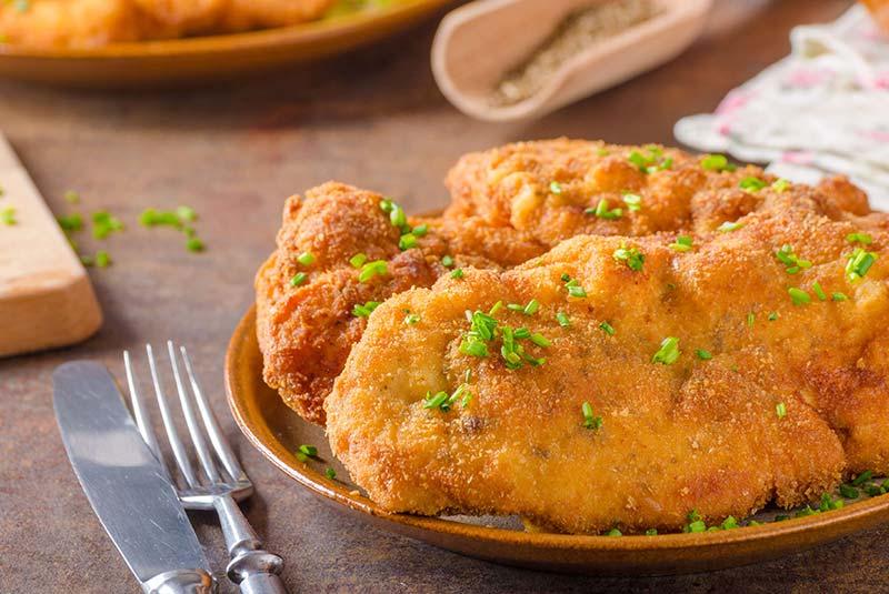 شنیتزل مرغ - غذای آلمانی