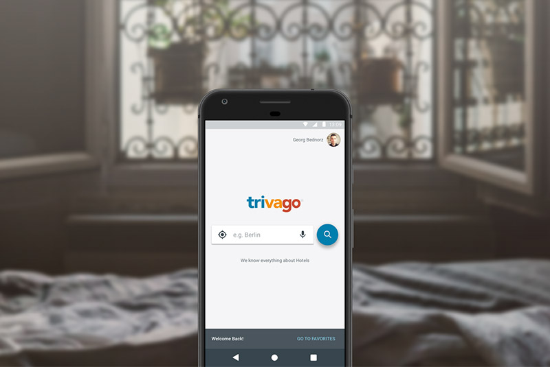 اپلیکیشن سفر Trivago