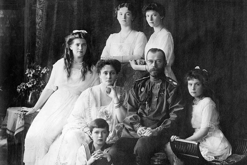 خاندان رومانوف - انقلاب روسیه