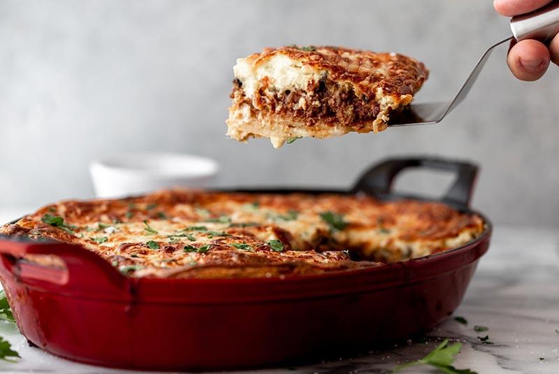 رسپی موساکا - غذای یونانی