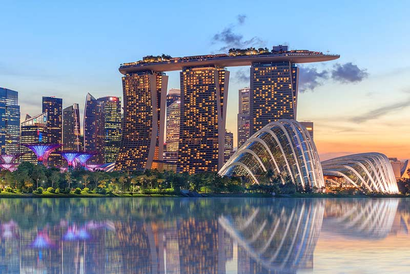 شهر تمیز سنگاپور