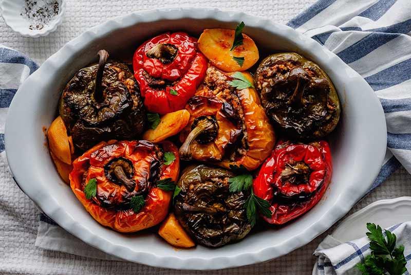 یمیستا - غذای یونانی