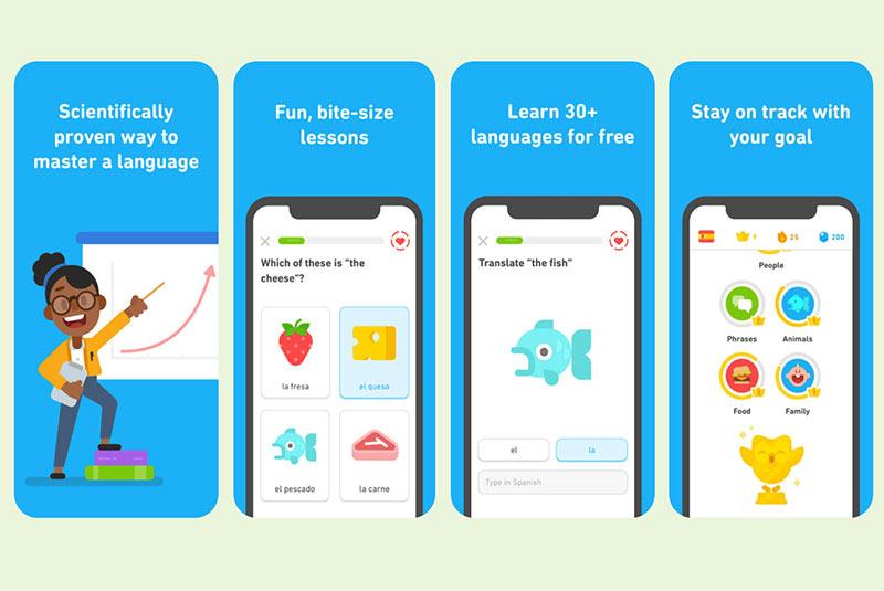 اپلیکیشن ترجمه Duolingo