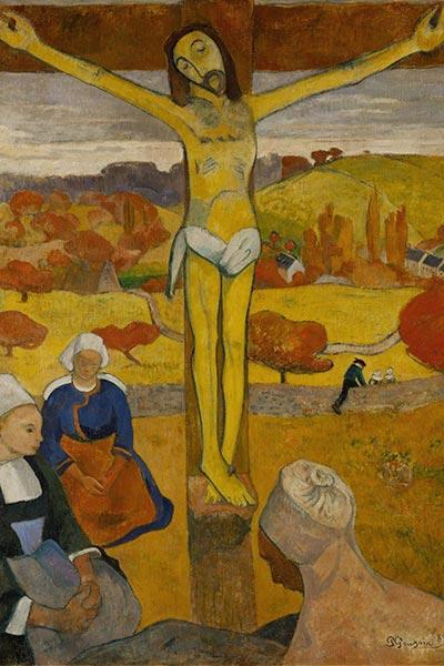 مسیح زرد - پل گوگن