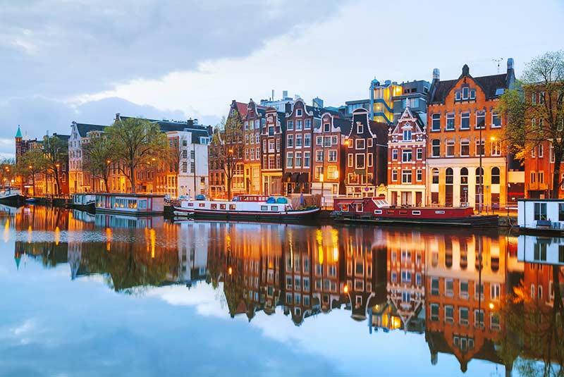 شهرهای پاک دنیا در سال 2020 - آمستردام