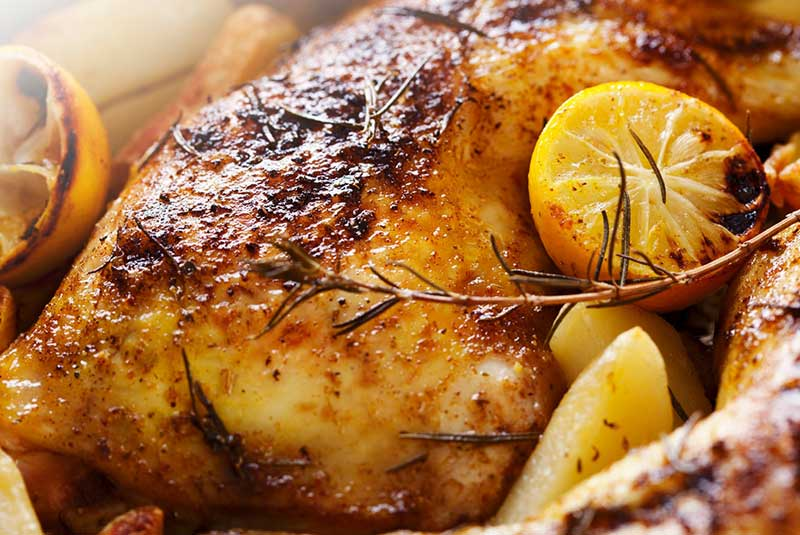 مرغ سوخاری آلمانی