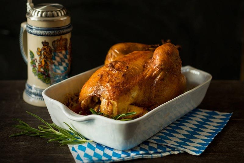 مرغ سوخاری - غذاهای لذیذ آلمانی