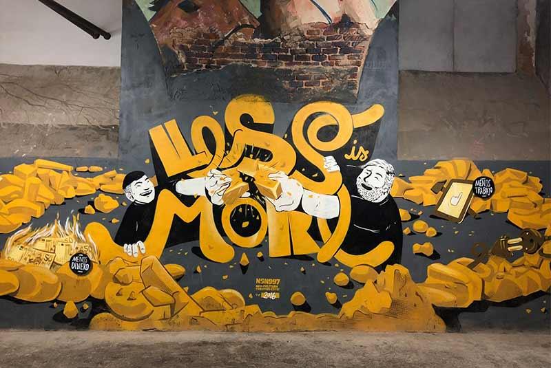 گرافیتی ناحیه تاباکالرا