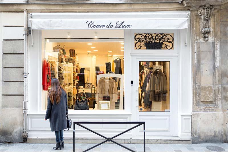 خیابان های خرید در پاریس