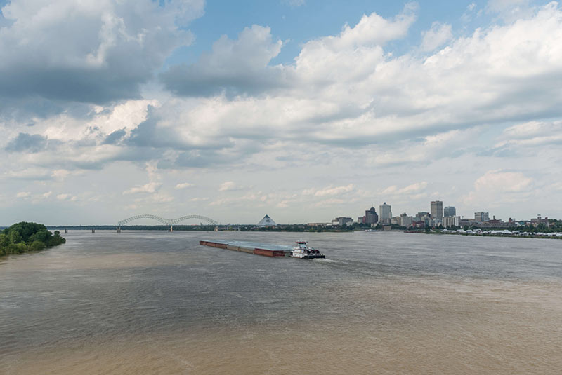 رودخانه میسیسیپی کجاست؟