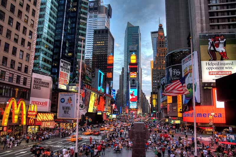 نیویورک - شهرهای پرجمعیت دنیا