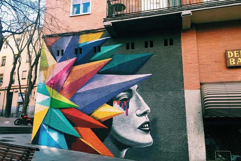 گرافیتی های مادرید