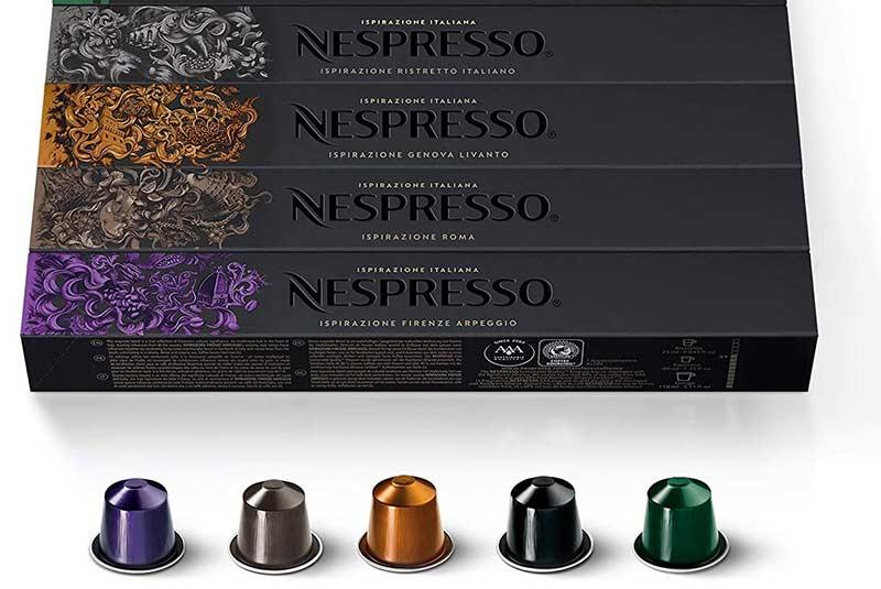 کپسول های نسپرسو - انواع اسپرسو