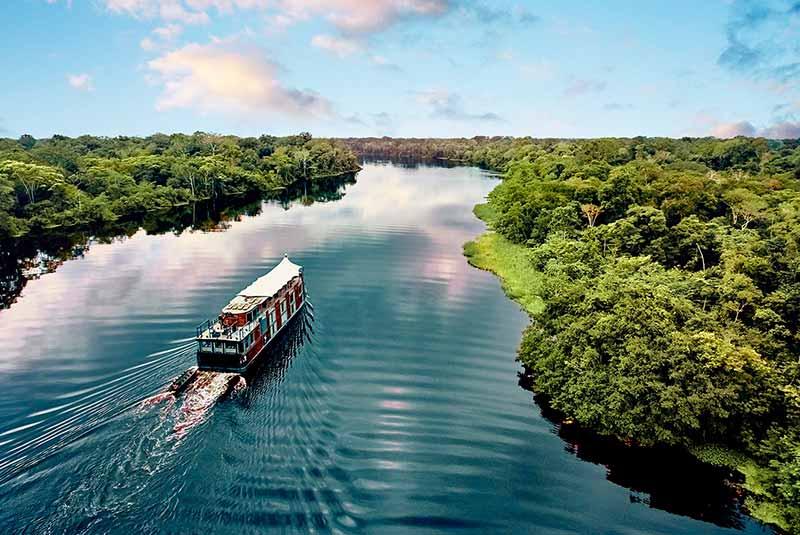 آمازون، پرآبترین رود دنیا