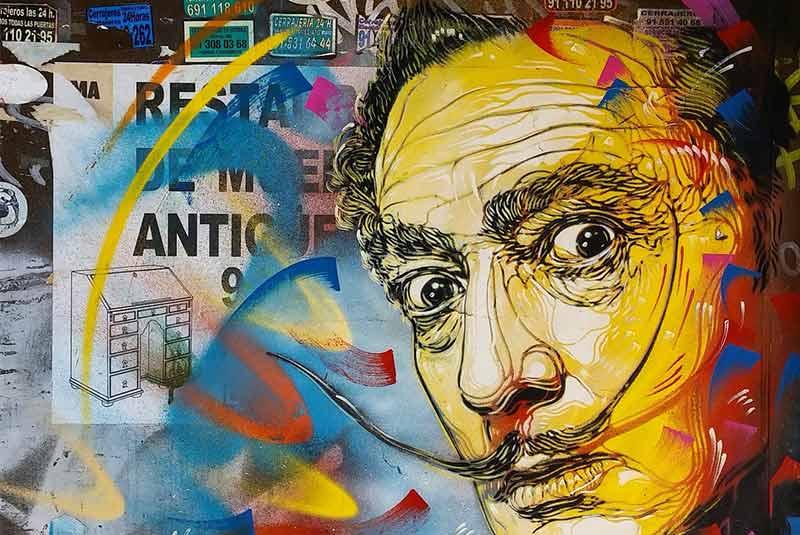 هنر خیابانی محله های مادرید