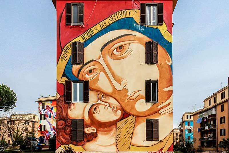 نقاشی دیواری های محلهتور مارانسیا