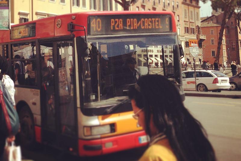 خطوط اتوبوس شهر رم